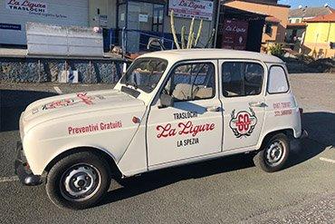 Traslochi la ligure La Spezia Magazine auto 60 anni