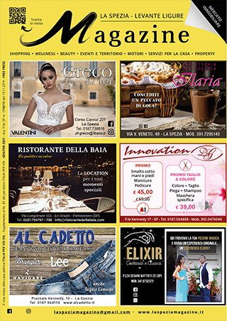La Spezia Magazine Gennaio Febbraio 2021
