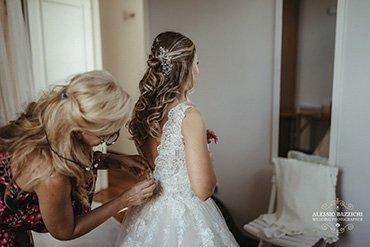 le spose di rosy rosy veste una sposa