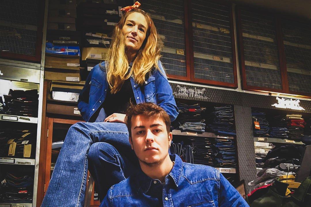 al cadetto jeans moda