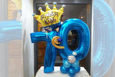 lafatacamilla palloncini 70 anni